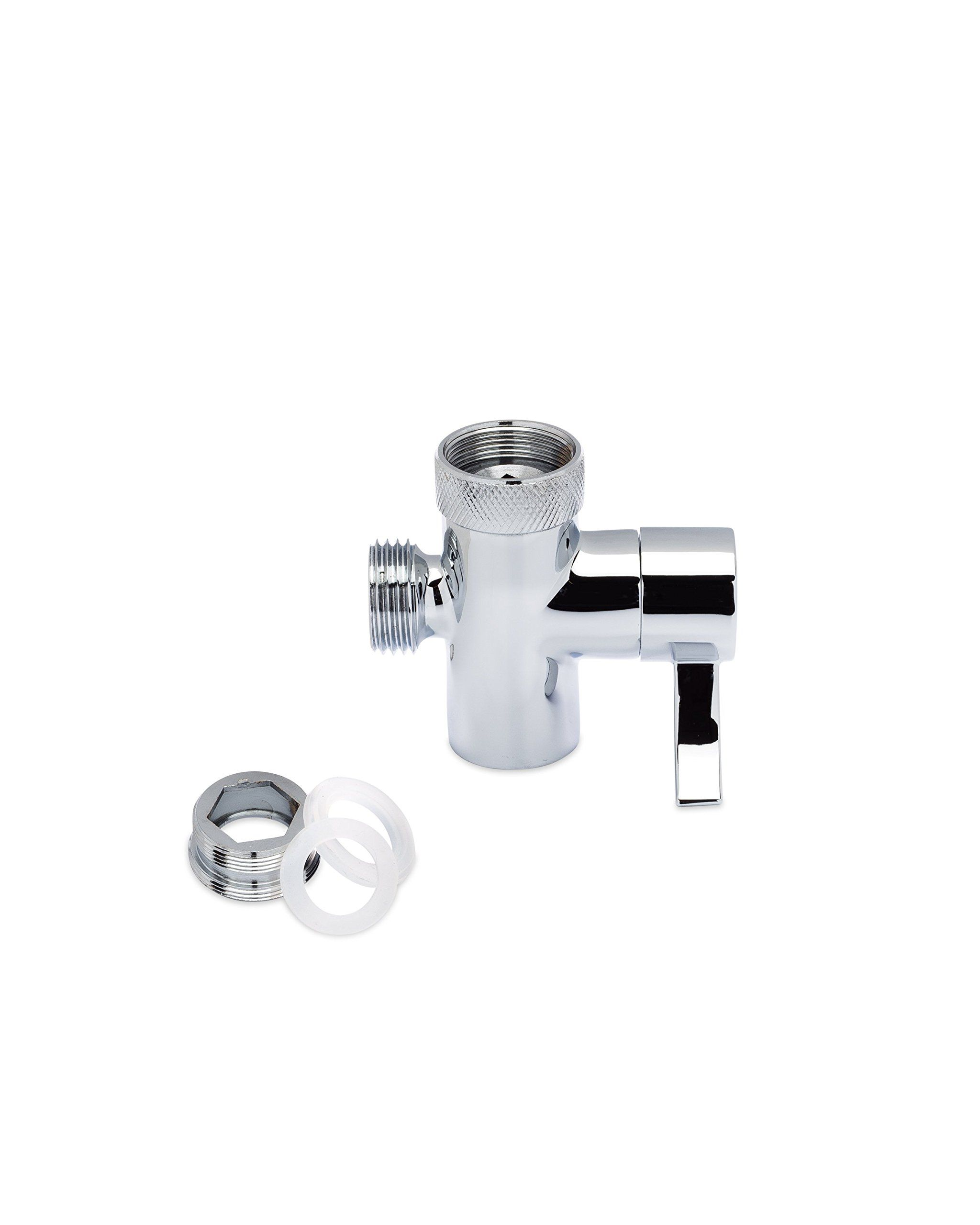 SmarterFresh Faucet Diverter Valve With Aerator and Male Threaded