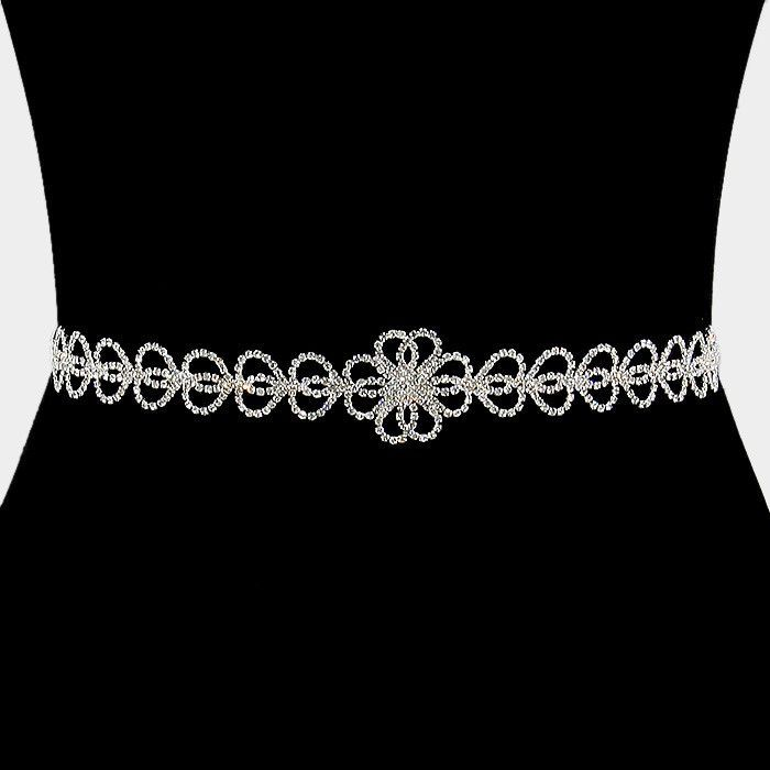 Rhinestone Bridal Belt 309812wb1699
