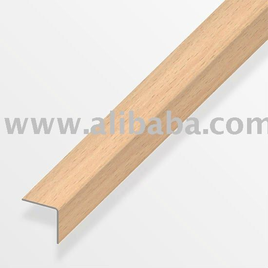 Stair Nosing/Nose/Step Edge   Wood Effect,Self Adhesive For Laminate...use  For Bamboo Placemat Edges On Vanity?