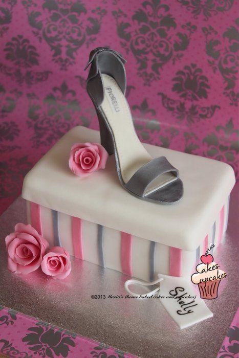 how to make a shoe box cake step by step