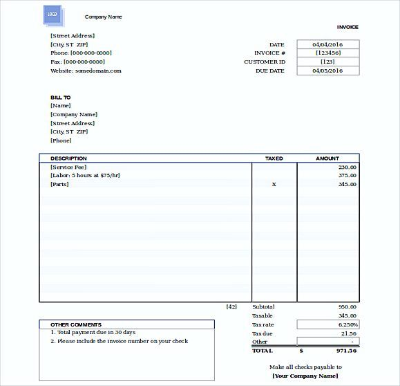 Simple Invoice Template Word Details Of Simple Invoice Template - How to make a simple invoice