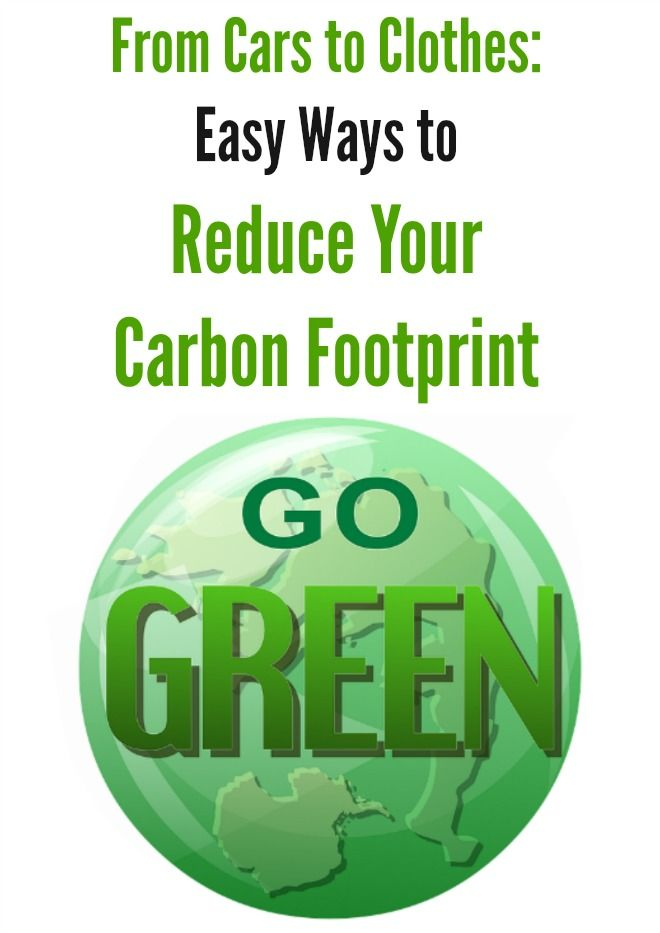 From Cars To Clothes Easy Ways To Reduce Your Carbon Footprint Carbon Footprint Footprint Carbon