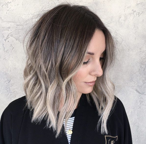 Beige Blonde Ombre By Brittany Gonzalez Short Hair Balayage Short Hair Styles Ash Blonde Hair Balayage