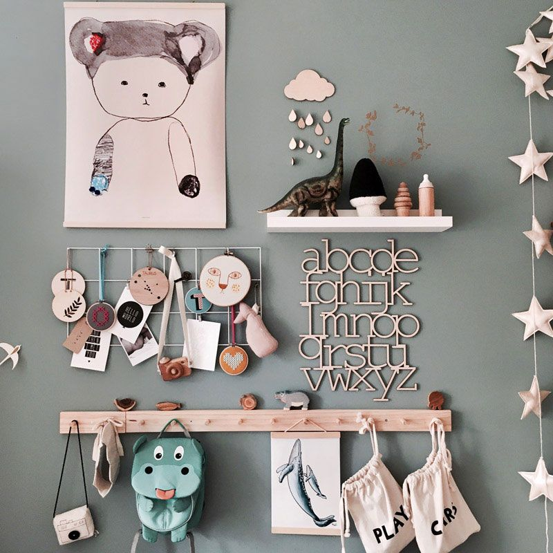 Tiny T's Lavish Scandinavian Style Toddler Room #toddlerrooms