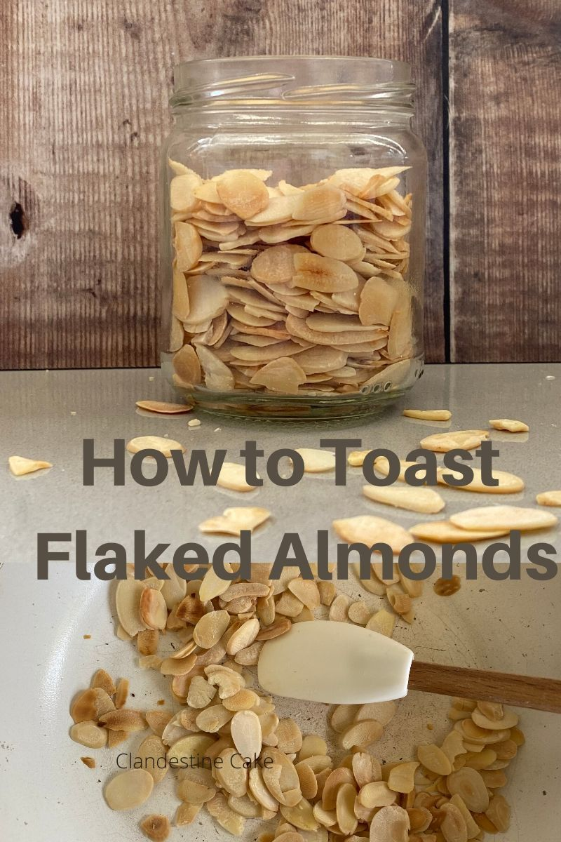 How to toast flaked almonds in 2020 almond recipes