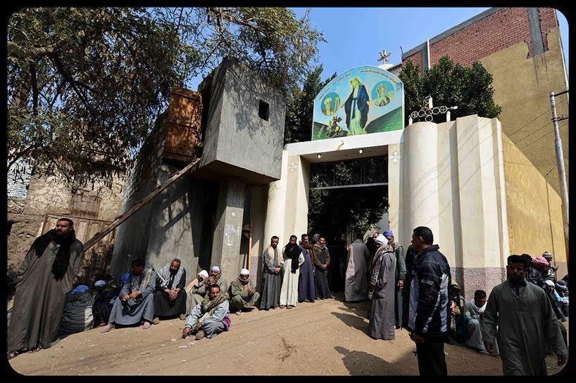 Católicos egipcios levantan la primera iglesia en el Monte Sinaí  Una de sus impulsoras ha sido la esposa del expresidente Mubarak