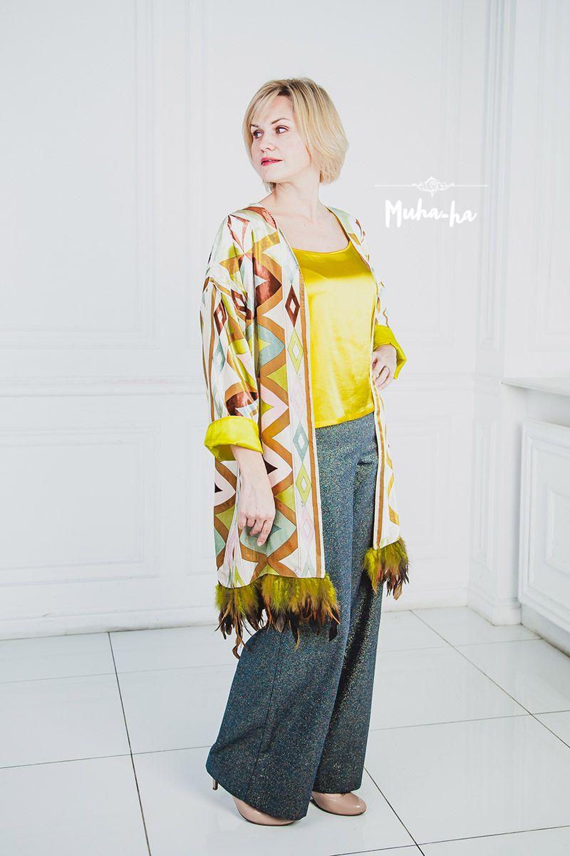 Шикарные, обалденные, крутые брюки трубы Ткань  твид Сошьём по Вашим меркам  для идеальной 087b5d926ab