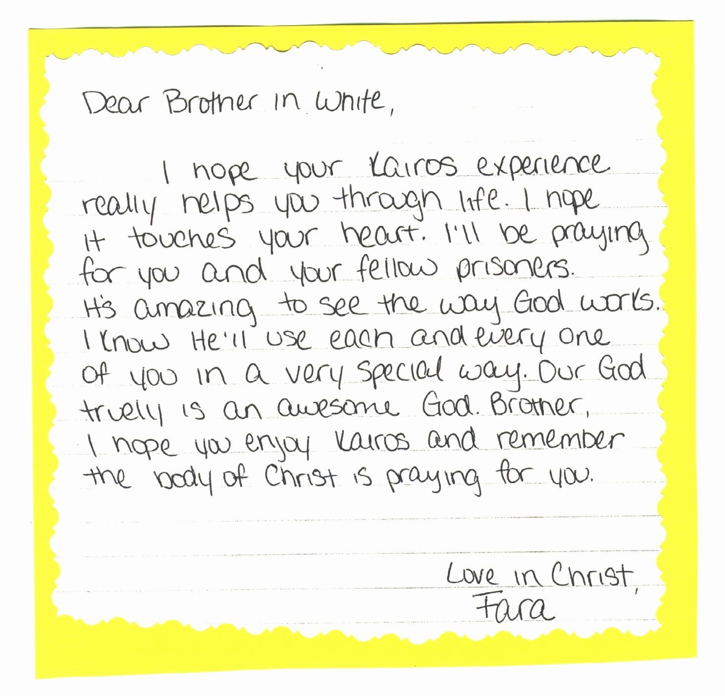 Sample Support Letter For Inmate from i.pinimg.com