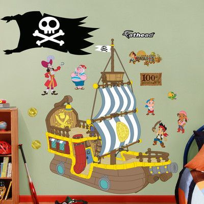 Fathead Disney Jake and The Neverland Pirates Wall Decal | Products