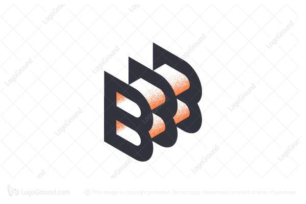 Bbb Monogram B Monogram Frame Logo Monogram