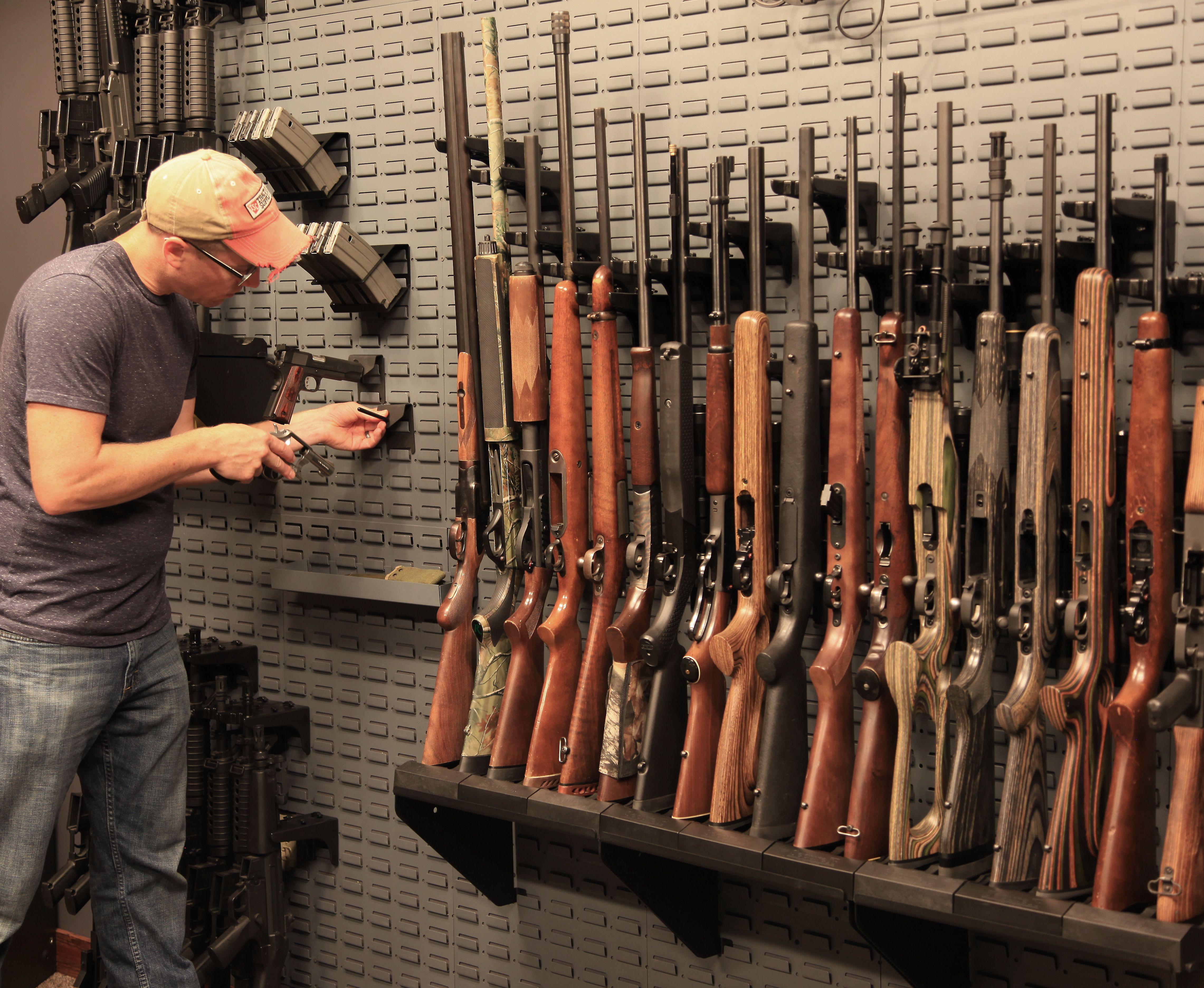 Pin On Weapon Storage
