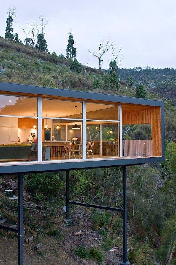 Maison Sur Pilotis  Habitat Alternatif  Maison De Rve