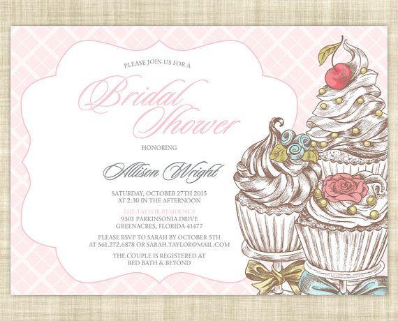 Parisian Bridal Shower Invitation Printable Bridal Shower