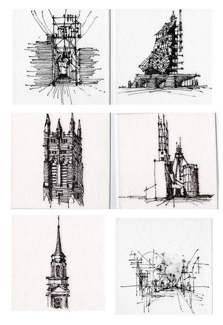 Great sketches.