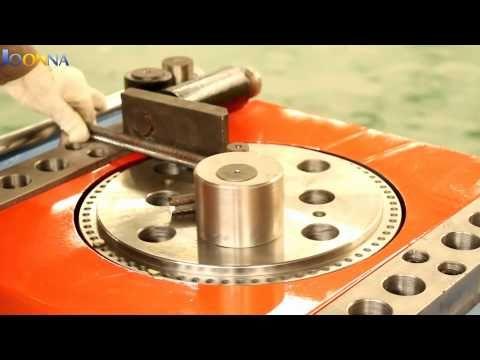 Automatic Steel Bar Bender Steel Bar Bending Machine Rebar Bender Rebar Bending Machine Youtube Steel Bar Metal Bending Metal Bender