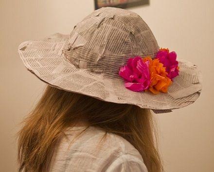 A continuación veremos como hacer un sombrero hecho de papel maché ... 5b9f54bcb9b