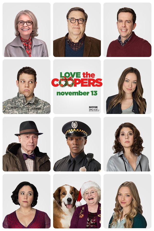 Meet the cast of the new holiday movie Love the Coopers - In ...