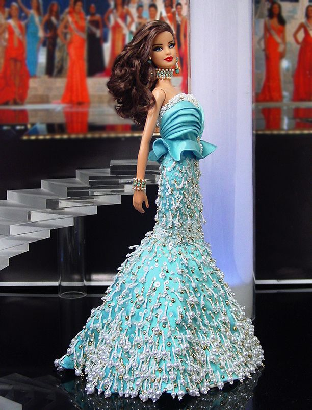 barbie doll evening gowns 12.16.4 | Barbie! I etc... | Pinterest ...