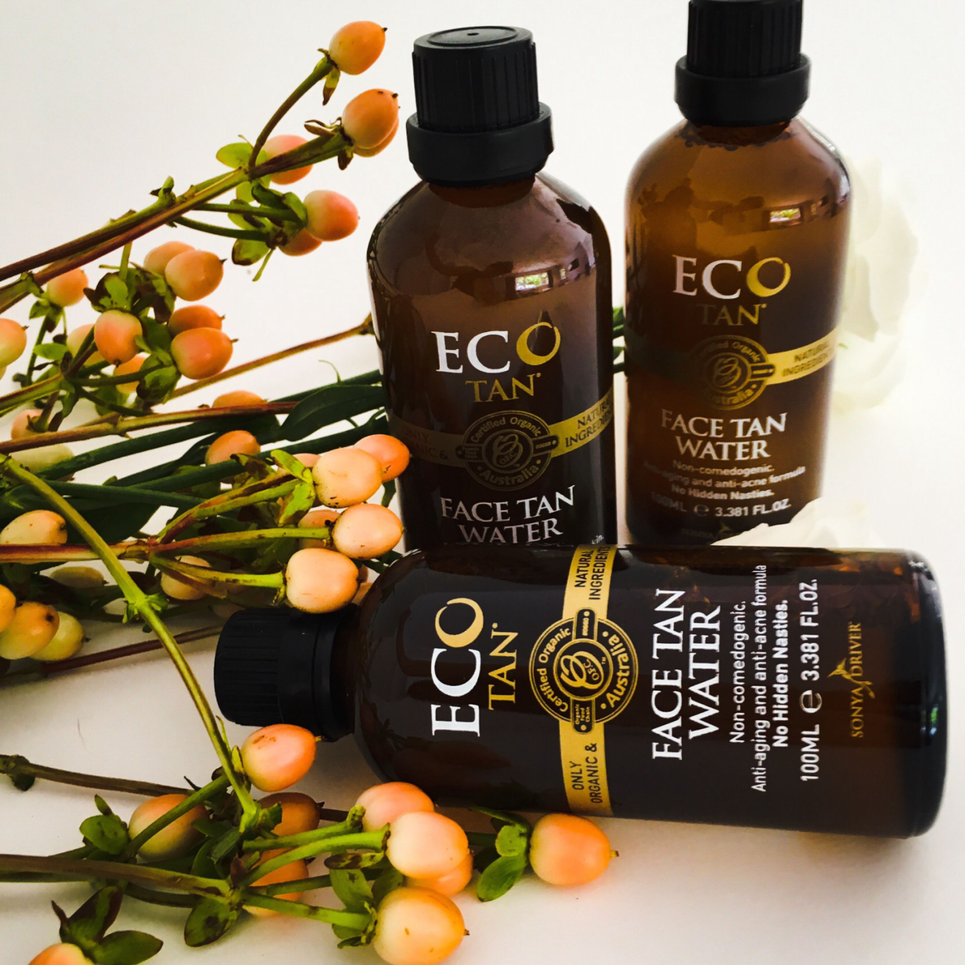 FACE TAN WATER = Your new FAVOURITE product! The ECO TAN