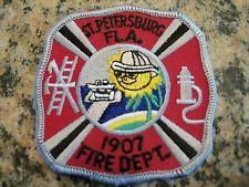 St. Petersburg, Florida Fire Dept. patch