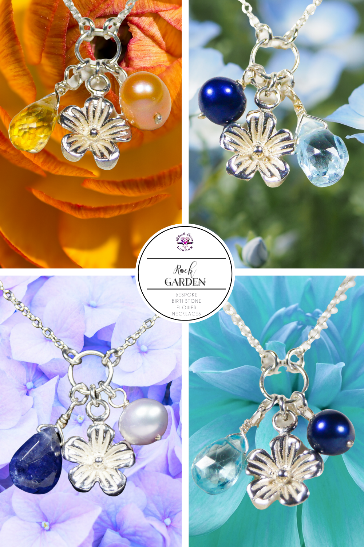 Sterling Silver Floral Jewellery November 's Birthstone