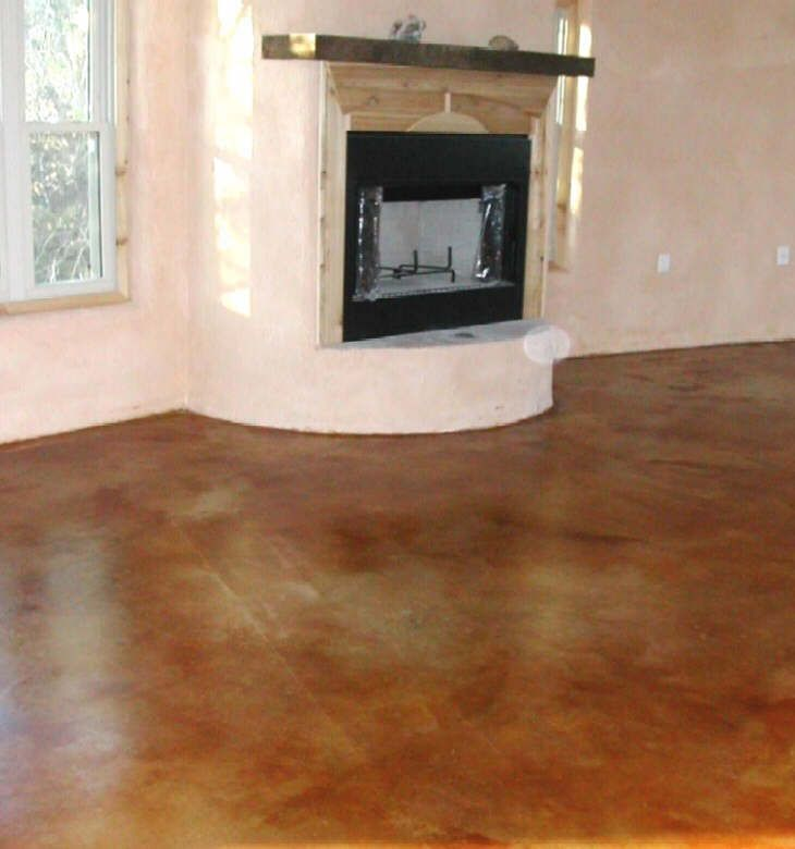 Concrete Stain in Cola-Austin TX | nuestra casa in 2019 ...