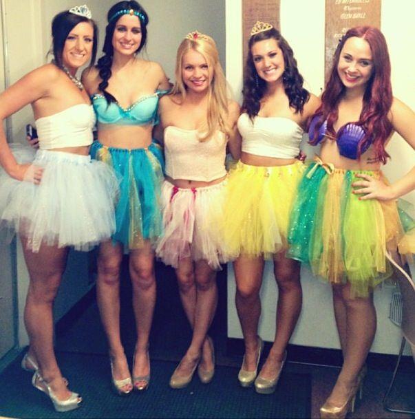 Exceptional Disney Princess Halloween Costumes: Cinderella, Jasmine, Sleeping Beauty,  Belle U0026 Ariel
