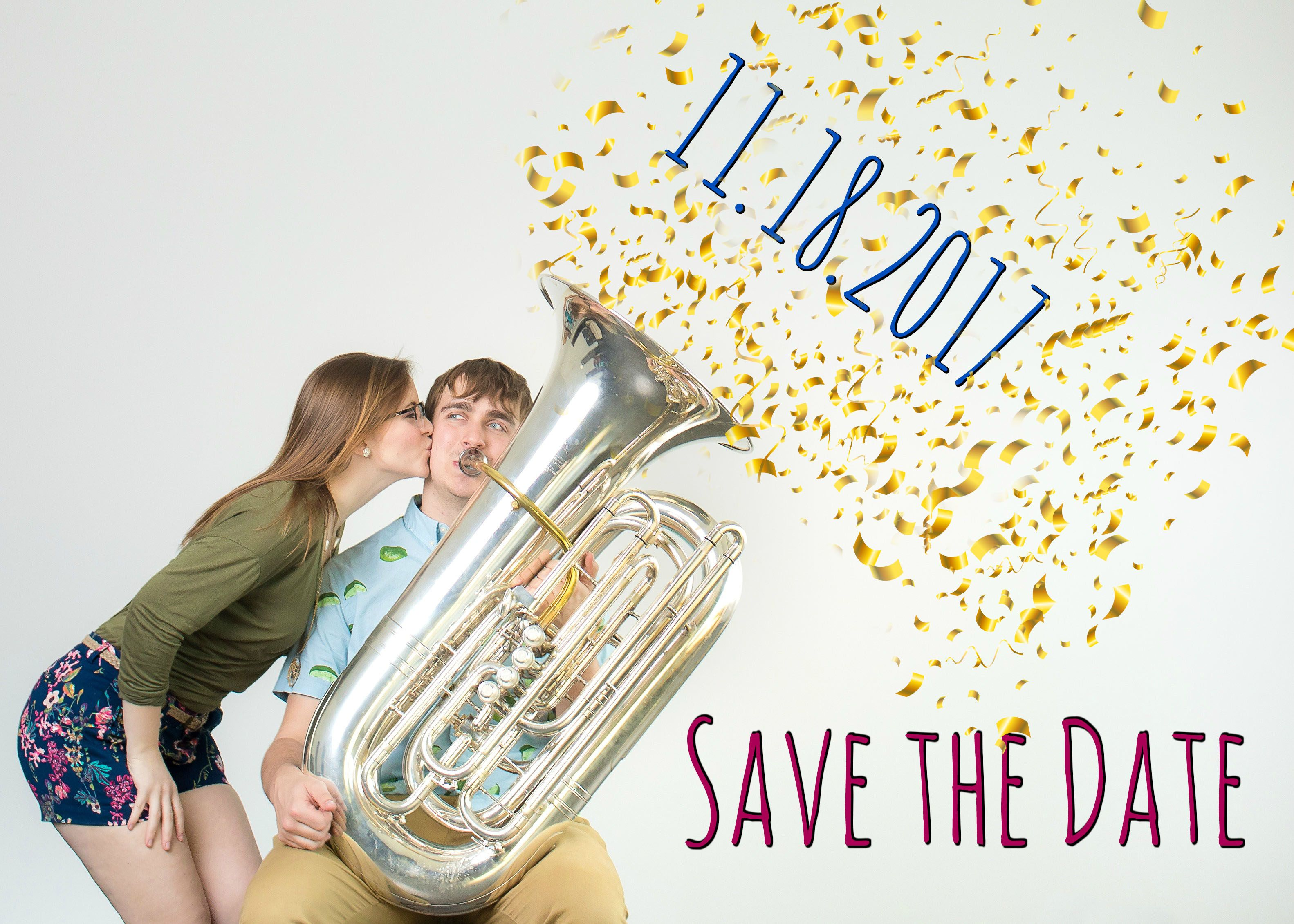 Funny Music Save the Date, Tuba | Wedding | Pinterest | Funny music ...