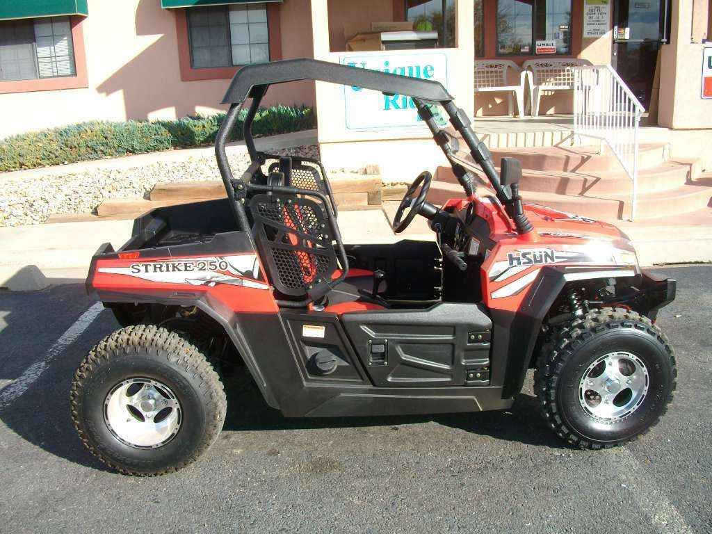 Check Out This New 2015 Hisun Strike 250 Atvs For Sale In Colorado