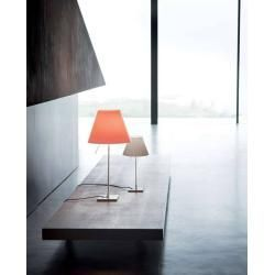 Luceplan Costanzina Tischlampe Rahmen Cremefarbener Beton Grau Luceplanluceplan In 2020 Lighting Design Interior Table Lamp Home Decor