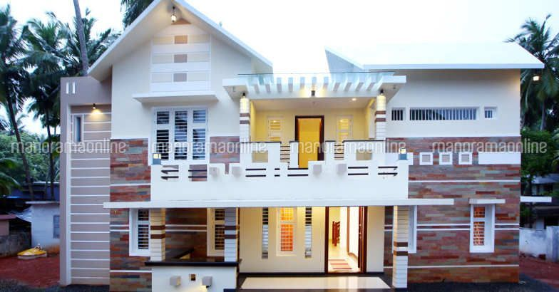 Contemporary House Contemporarydesign Dreamhomes Homestyle Manorama Online House Styles Low Cost House Plans House Plans