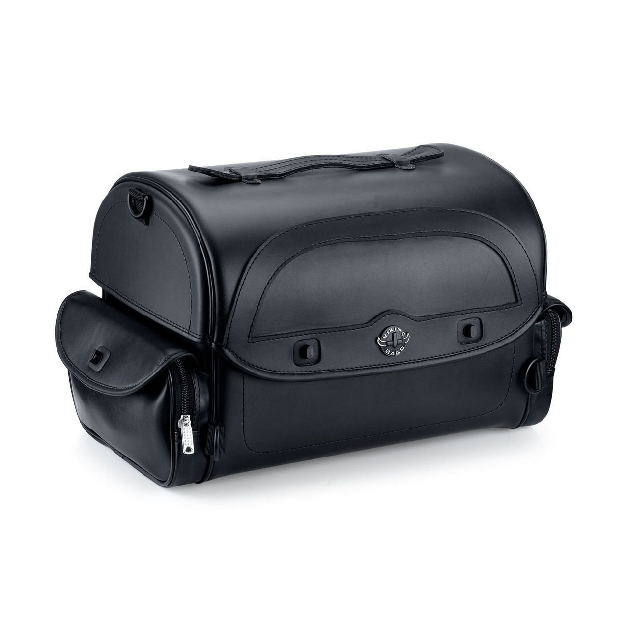Warrior Black Leather Plain Motorcycle Tail Bag We Offer Luggage And Bags For Motorcycles Hard Saddle Lowest Prices