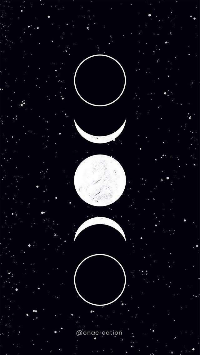 Fondecraniphonemarbre Wiccan Wallpaper Witchy Wallpaper Moon Art