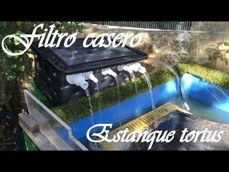 Mi filtro casero para estanque de tortugas paso a paso for Estanque tortugas casero