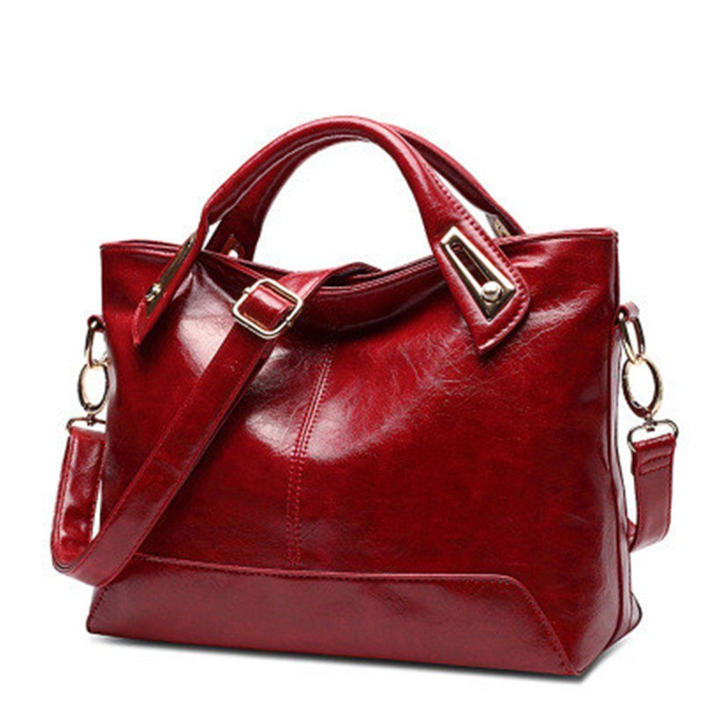YAAGLE sac à main femme en cuir avec manche sangle: Amazon.fr: Bagages