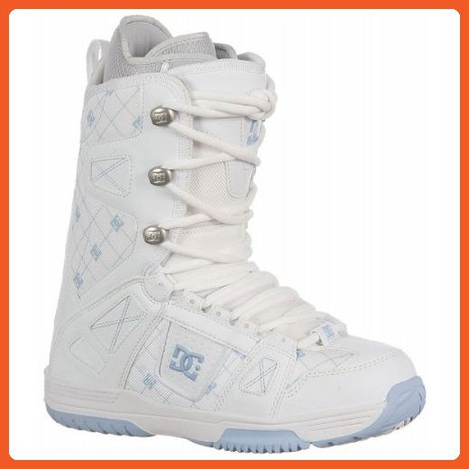 7a4a72ff08c DC Phase Snowboard Winter Boots White/Carolina Blue Womens 8 ...