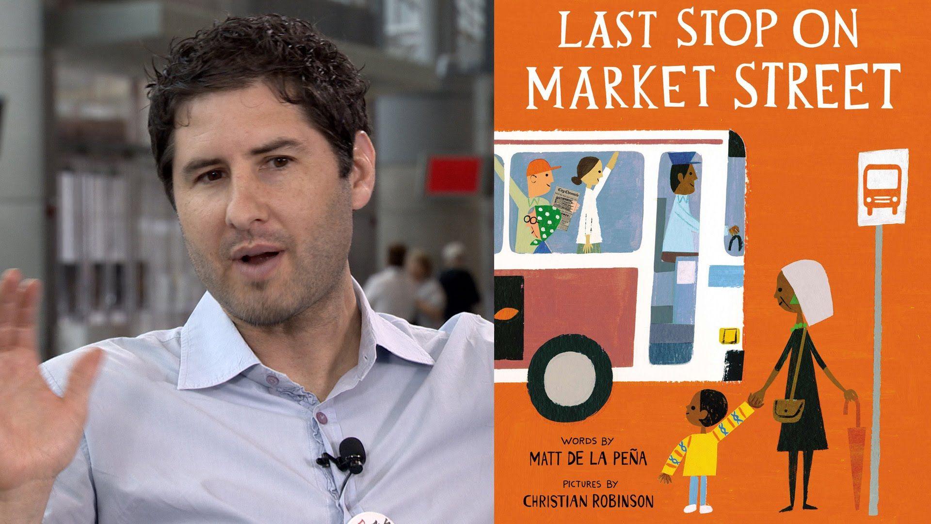 Newbery Medal Winner Matt De La Pena On Last Stop On Market Street