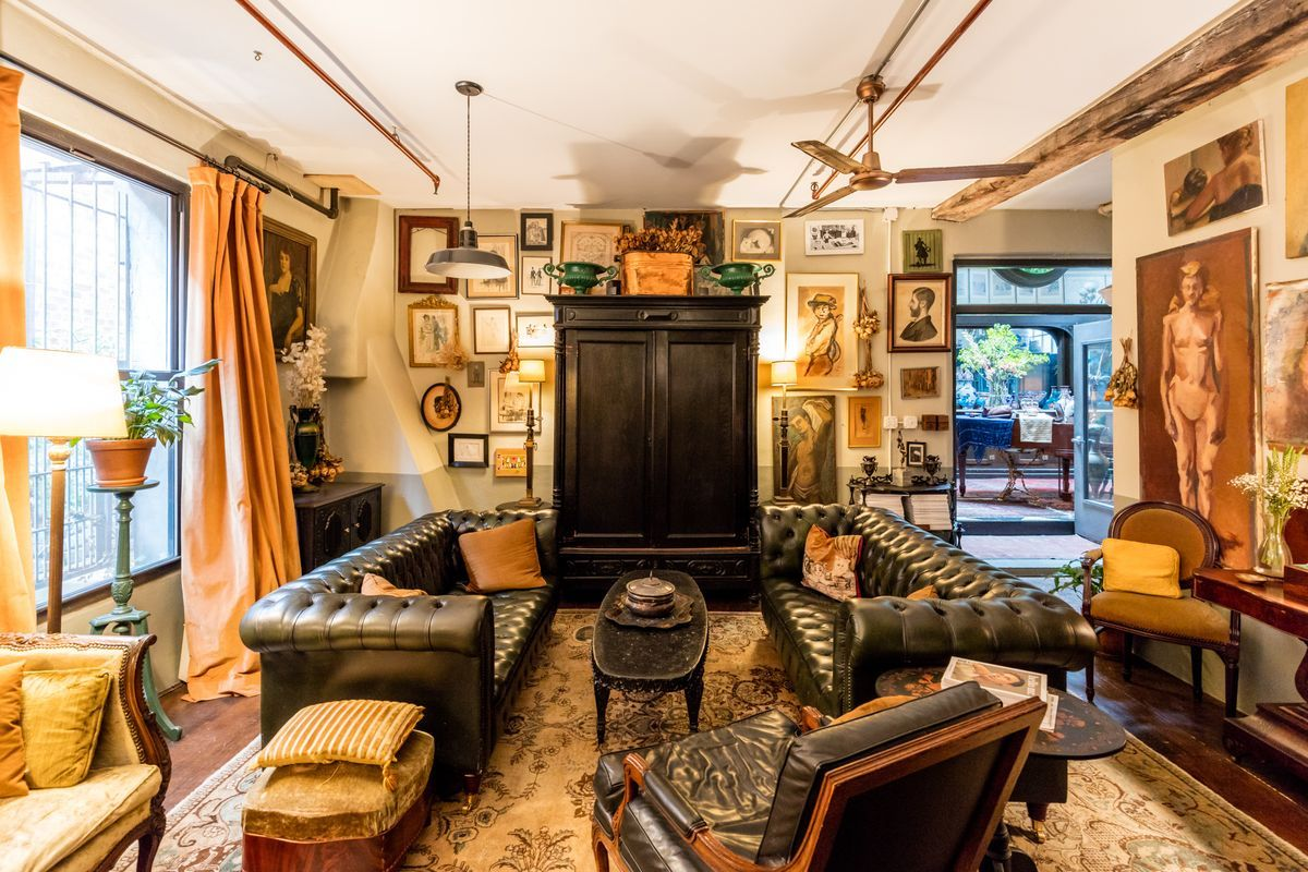 Camilla Tange Home : In greenpoint an elegant home full of auction house finds lofts