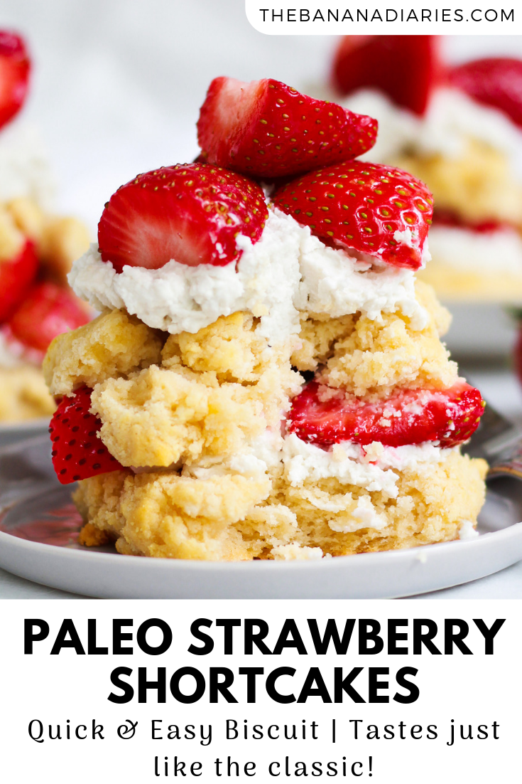 Paleo Strawberry Shortcake images