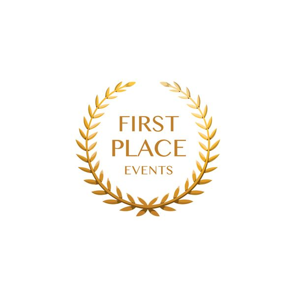 First Place Events Logo By Oliver Whyte Brandidentity Events