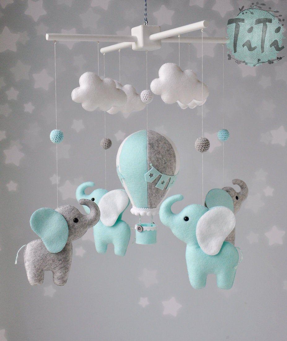idéal pour Baby Shower Elephant Design Baby Bunting nouveau bébé rose bleu ou neutre