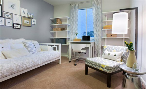 The Gables At Vineyard Point New Home Community Guest Bedroom Office Guest Room Office Combo Home Office Guest Room