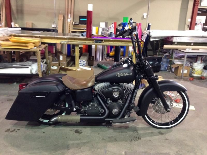 Bobber to Dyna Bagger to Real Deal SG Special Build - Harley