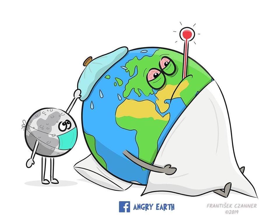 La Tierra Esta Enojada Y Te Lo Dicen Con Dibujos Imagenes Del Medio Ambiente Dibujos Medio Ambiente Dibujo