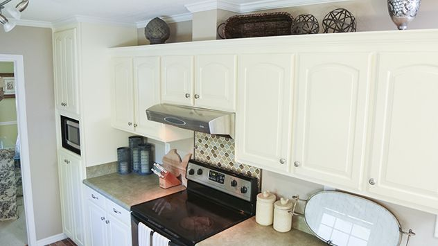 How to Remove Furr Down Above Kitchen Cabinets | Above ...
