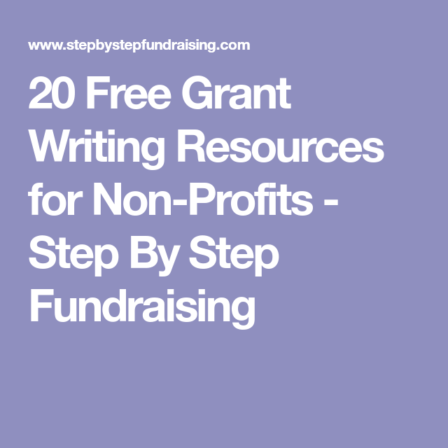 20 Free Grant Writing Resources For Non-Profits