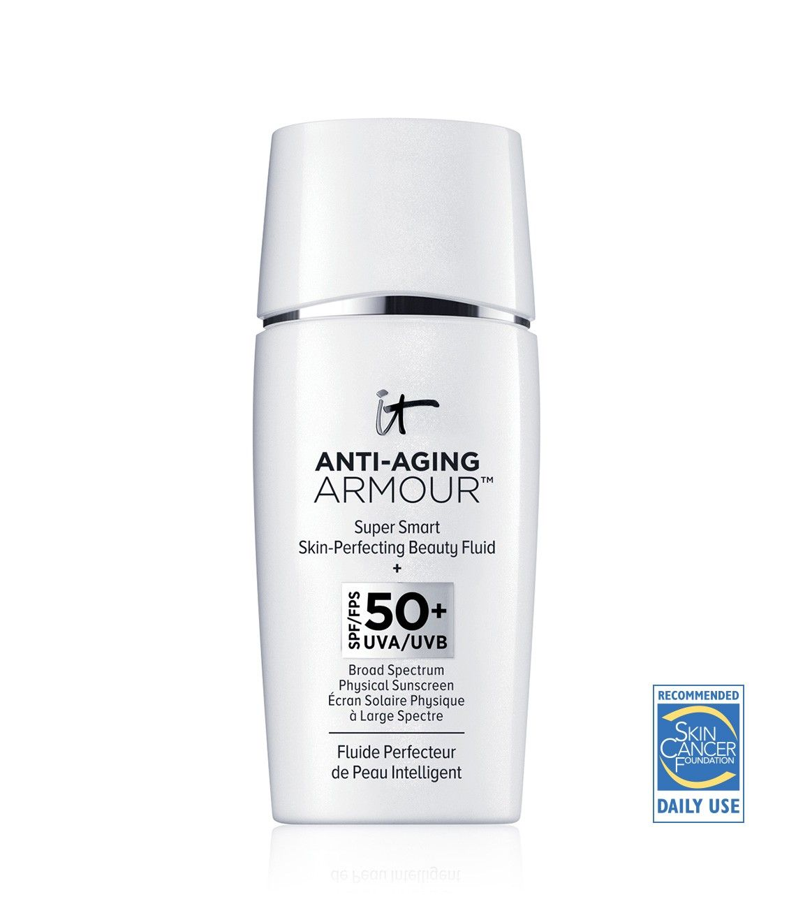 Super Smart Skin-Perfecting Beauty Fluid + SPF 50+ UVA/UVB Broad Spectrum Physical Sunscreen