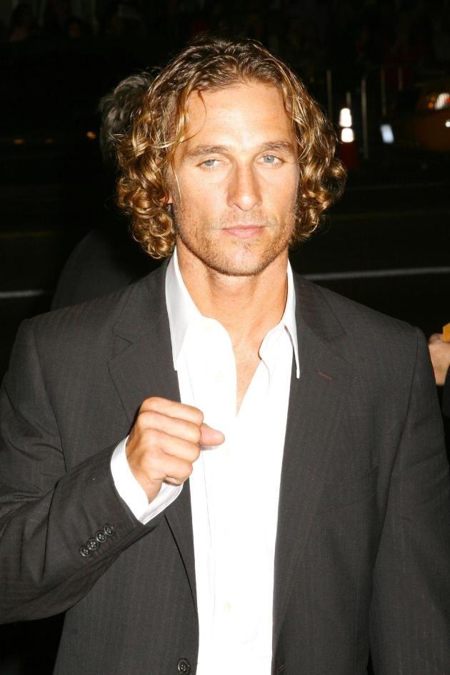 Matthew Mcconaughey Love Those Curls