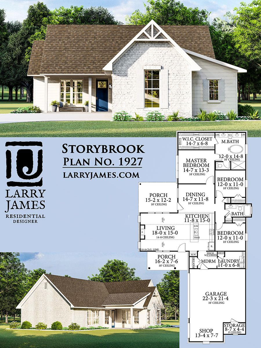 The Storybrook House Plan 1927 Building A Small Cabin House Plans House