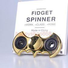 Cool Gold Chrome Batman Fidget Hand Spinner EDC Finger Children S Day Gift